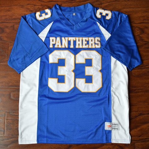 Tim Riggins Dillon High Football Jersey Stitched - Blue