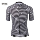 White Skull Biking Cycling Jersey