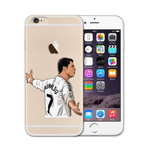 Cristiano Ronaldo Soccer iPhone Case