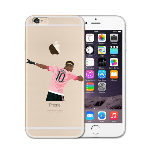 Dabbing Pogba Soccer iPhone Case