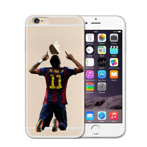 Neymar Jr Soccer iPhone Case