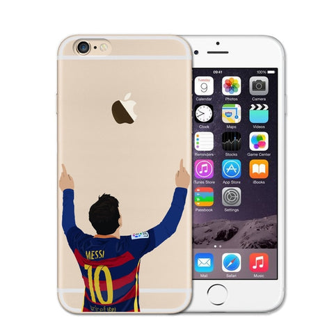 Lionel Messi Soccer iPhone Case