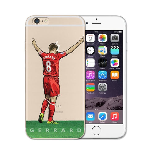 Gerrard Soccer iPhone Case