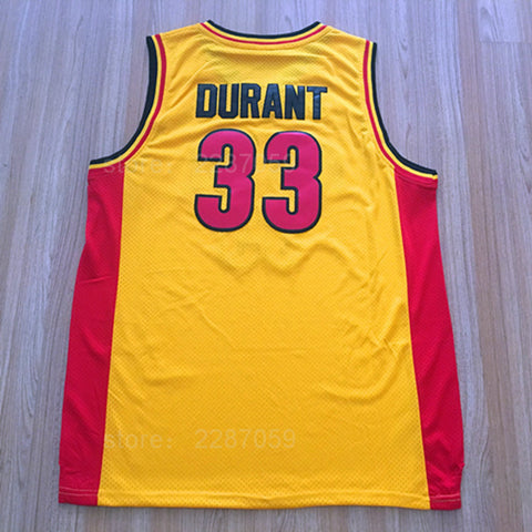 Durant Oak Hill High School Basketball Jersey
