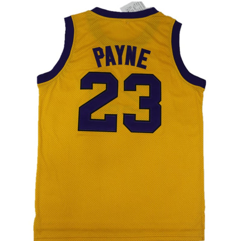 Martin Payne Basketball Jersey - Yellow