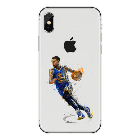 "Steph Curry ""Unstoppable"" iPhone Case"