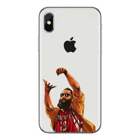 "James Harden ""Unstoppable"" iPhone Case"
