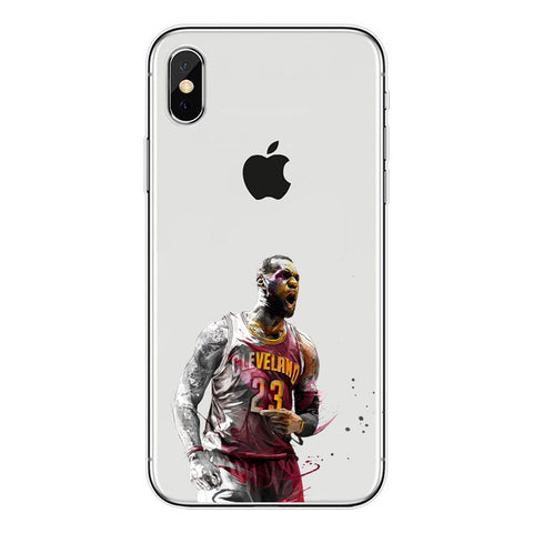 "Lebron James ""Unstoppable"" iPhone Case"