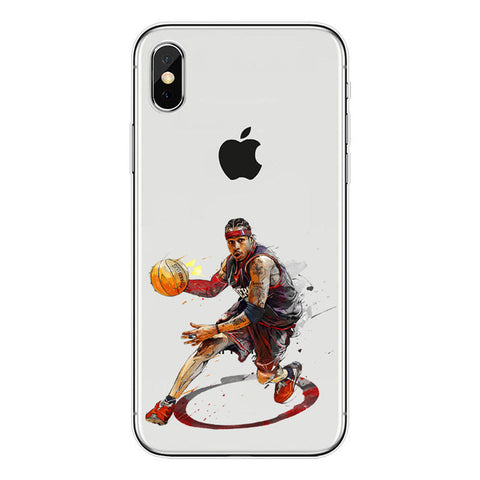 "Allen Iverson ""Unstoppable"" iPhone Case"