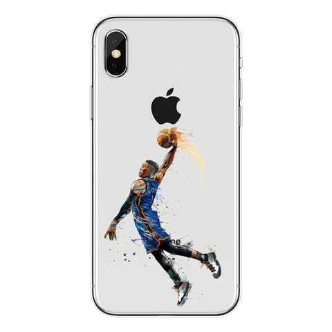 "Russel Westbrook ""Unstoppable"" iPhone Case"