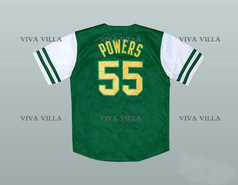 Kenny Powers Eastbound and Down Charros Baseball Jersey - Green