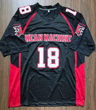 Paul Crewe The Longest Yard Mean Machine Jersey - Black