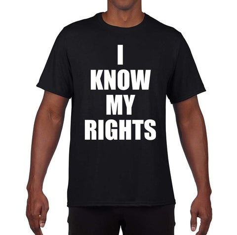 I Know My Rights Black Lives Still Matter Shirt