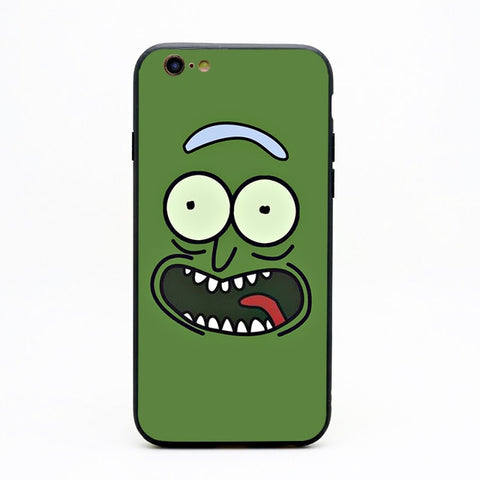 Pickle Rick Rick and Morty iPhone Case