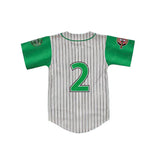 Custom Youth Kekambas Hardball Jersey - Gray