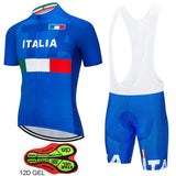 Tour de Italy Cycling Biking ITALIA Jersey