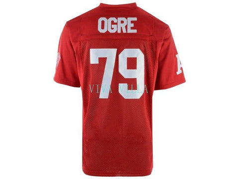 OGRE Revenge Of The Nerds Movie Jersey #79 Stitched Football Jersey
