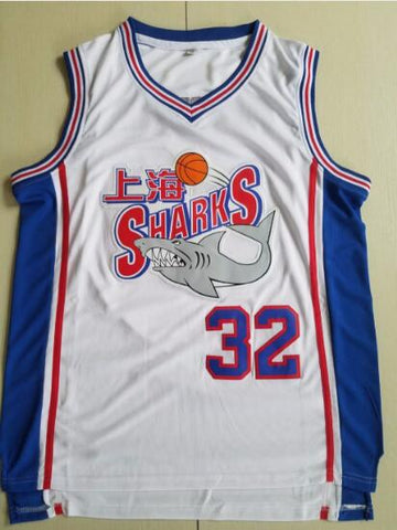 Jimmer Fredette Shanghai Sharks Basketball Jersey Stitched - White