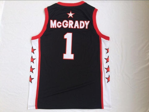 Tracy McGrady T-MAC Mount Zion High School Basketball Jersey - Black