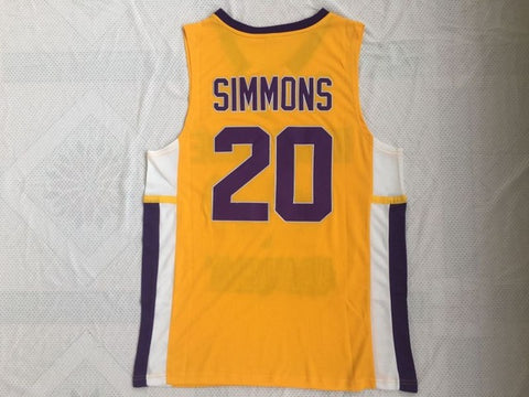 Ben Simmons Montverde Academy Eagles Basketball Jersey