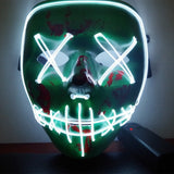 "Purge Hypebeast ""Power"" LED Rave Mask"
