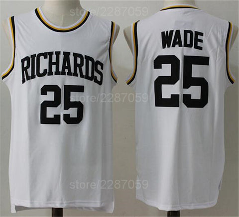 Dwyane Wade Richards High School Basketball Jersey