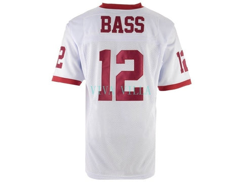 Ronnie Bass Jersey Remember the Titans Football Jersey Stitched