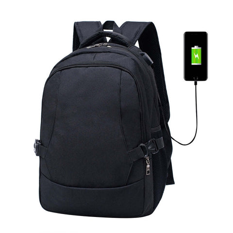 USB Charging Anti Theft Backpack Oxford III