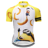Mens Cartoon Biking Cycling Jersey