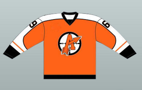 "Doug ""THE THUG"" Glatt Orangetown Assassins Hockey Jersey Goon"