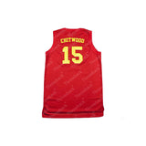 Hickory Hoosiers Monta Ellis Jimmy Chitwood Throwback Basketball Jersey Stitched