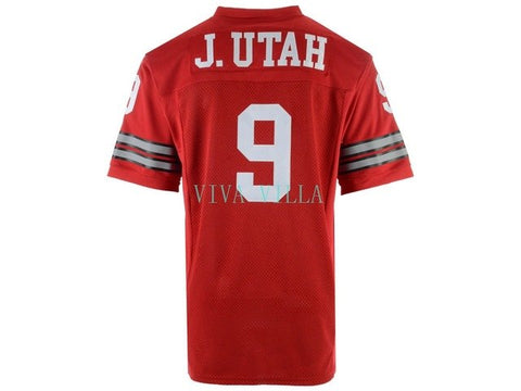Jonny Utah #9 Point Break Football Jersey Stitched