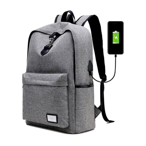 USB Charging Anti Theft Backpack Oxford II