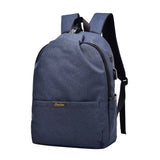 USB Charging Anti Theft Backpack Blue