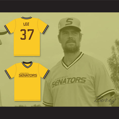 Beer League Bill Lee Longueuil Senators Baseball Jersey Spaceman Stitched