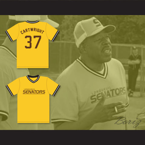 6ed771bd Beer League Longueuil Senators Cartwright Baseball Jersey Spaceman Stitched