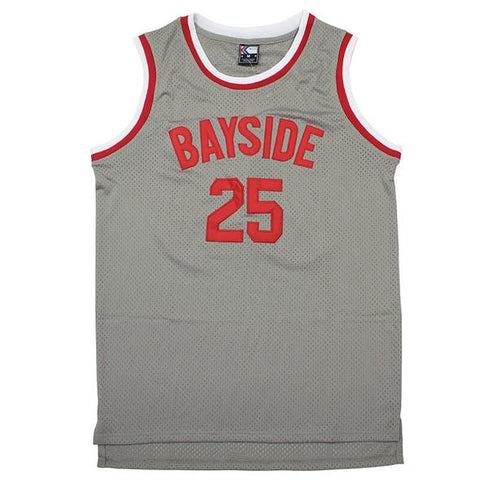 Zack Morris Saved By The Bell Bayside Tigers Jersey - Gray