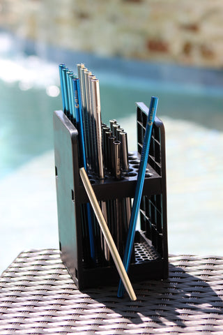 Dishwasher Straw Caddy