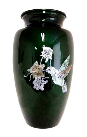 Birds and Butterfly Cremation Urns
