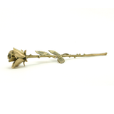 Brass Rose Stem Keepsakes