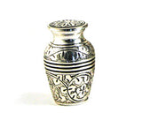 Terrybear Antique Silver Oak Cremation Keepsake Urn | Vision Medical