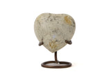 Heart Keepsake Glenwood White Marble
