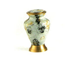 Token Glenwood White Marble Cremation Urn