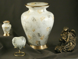glenwood white marble urn