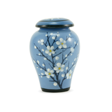 Plum Blossom Ceramic Keepsake Cremation Urns