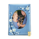 Plum Blossom Ceramic PhotoFrame Keepsake Cremation Urns