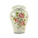 Rose Bouquet Ceramic Keepsake Cremation Urns