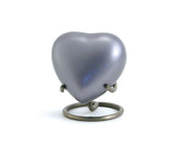 Lineas Starlight Blue Heart Cremation Urn