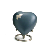 Terrybear urn Aria Ascending Doves Heart Cremation Urn