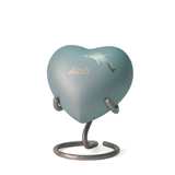 Aria Dolphin Heart Cremation Urn